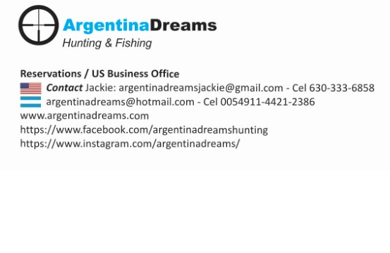 Argentina Dreams Contact Data